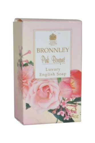 Bronnley Pink Bouquet Luxury English Soap 25g by Bronnley
