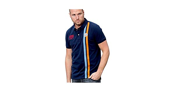 Grandprix Originals Gulf Banda Polo Azul Marino: Amazon.es: Ropa y ...