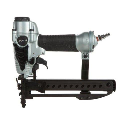 "Hitachi N3804AB3 1/4"" Narrow Crown Stapler, 18 Gauge, ½-Inc"
