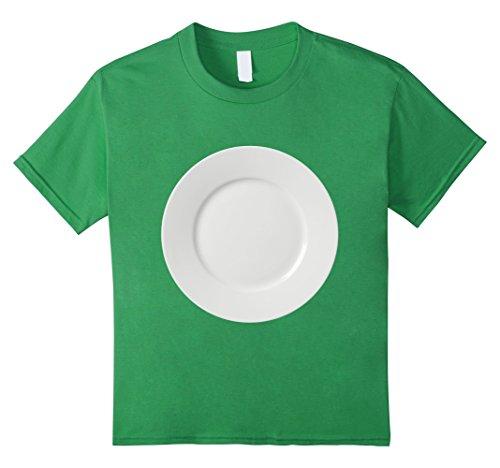 Couples Effort Low Costume (Kids Plate White Dinner Table Setting Halloween Costume T Shirt 8)