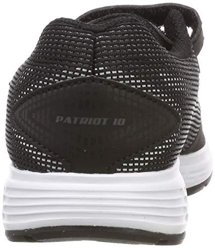 white Patriot black Scarpe – Nero Da Bambini Ps Running Asics 004 10 Unisex PdUqPA
