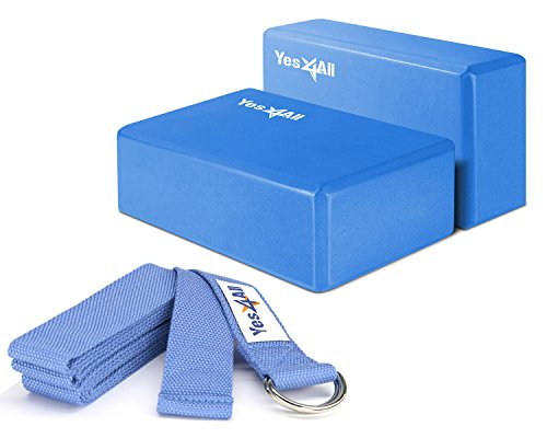 Yes4All Yoga Blocks Strap D Ring