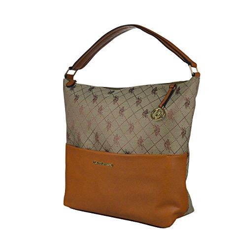 aefb639419 US Polo Assn Kerrington Womens Jacquard Hobo Bag - Buy Online in UAE ...
