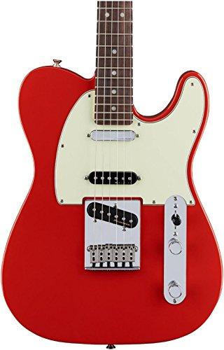 Fender Deluxe Nashville Telecaster Electric Guitar, Rosewood Fingerboard, Fiesta Red