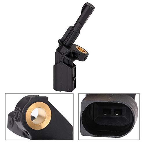 ECCPP Rear Right ABS Wheel Speed Sensor Compatible with 2009-2013 Audi A3,2009-2011 Audi A3 Quattro,2008-2009 Audi TT, VW Jetta Beetle Passat Tiguan CC R32 Set of 1