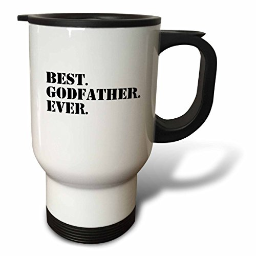 3d Rose 3drose Best Godfather Ever, Gifts for Godparents,...