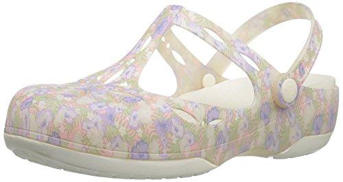 Light décoratifs talons Graphic Carlie à Floral Chaussures Crocs Pink xqv4Pn