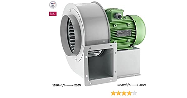 Radial Ventilador Turbo ciclónico Radial Centrífugo Radial ...