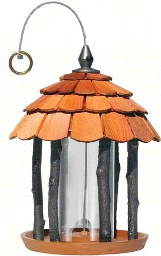 2 PACK Gazebo Wood Feeder