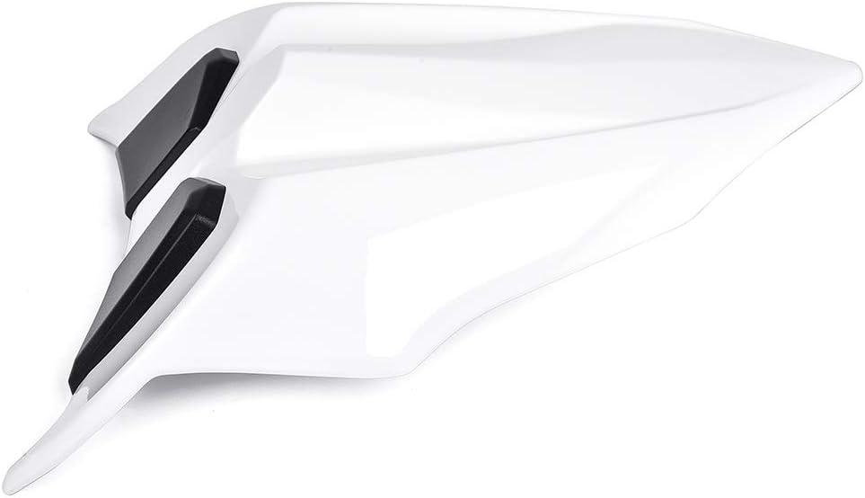 NINJA 650 Z650 17 18 19 Accessoires Si/ège arri/ère Capot Cache de protection Capot ABS Plastique Vert Noir Blanc pour Kawasaki NINJA650 Z 650 2017 2018 2019 Noir