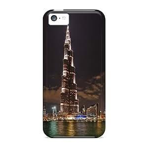 XiFu*MeiIdeal Mycase88 Cases Covers For iphone 6 plua 5.5 inch(wonderful Night View Of Burj Khalifa), Protective Stylish CasesXiFu*Mei