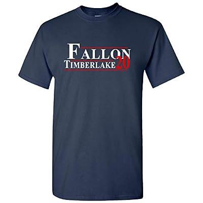 Fallon Timberlake for President 2020 on Navy Short Sleeve T Shirt