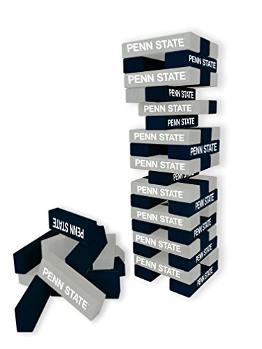 Wild Sports NCAA College Penn State Nittany Lions Table Top Stackers Game