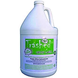 Trashed Green Carpet Cleaning Pre-Spray and Detergent