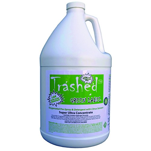 Trashed Green Carpet Cleaning Pre Spray And Detergent