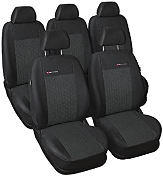 Tailored seat covers for Citroen Xsara Picasso  FULL  SET 5 seater grey