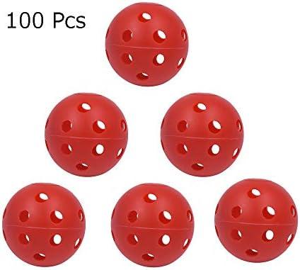 Pelotas de golf Juego de 100 bolas de plástico para entrenamiento ...