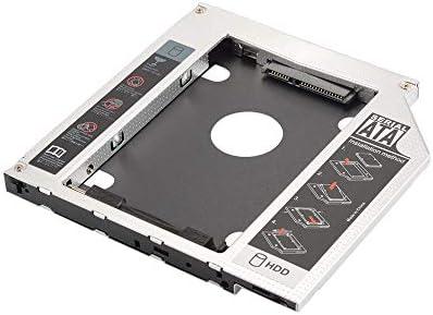 Universal 9.5mm SATA HDD Disco Duro SSD carcasa de la caja Caddie ...