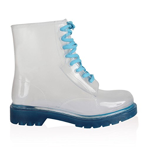 Blue Boots and 36 Sock Boots Bundle Sole London Transparent Jelly Jolly nYS4qwqU