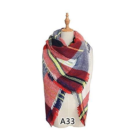 XBR l imitazione di Scialli Fashion Scozzese Sciarpa Imitazione Cashmere  Scialli Sciarpa Burberry 40698e88114