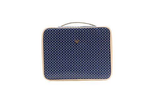 PurseN Diva Makeup Travel Organizer Bag Case Blue Dunes by PurseN