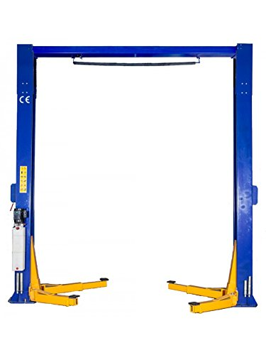 TRIUMPH NTO-15 15000Lbs Two Post Clear Floor Lift