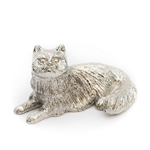 Cat (Lying) Made in UK Artistic Style Animal Figurine Collection