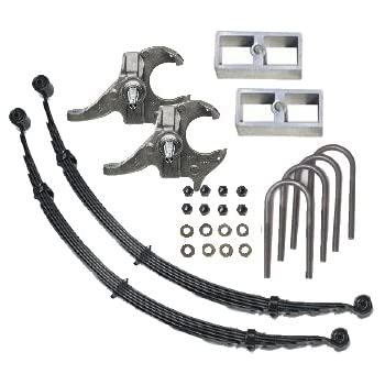 McGaughys Deluxe 2//3 Lowering Suspension Kit 2WD Truck SUV 33104