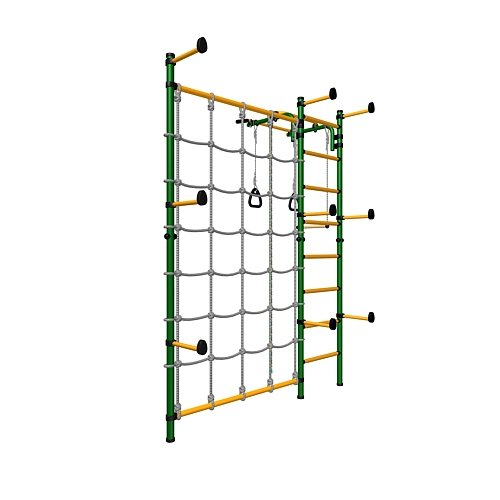 Kids Playground With Climbing Cargo Net Indoor Wall Gym