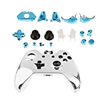 Full Housing Shell Case + Blue Button Parts for Xbox One Game Controller
