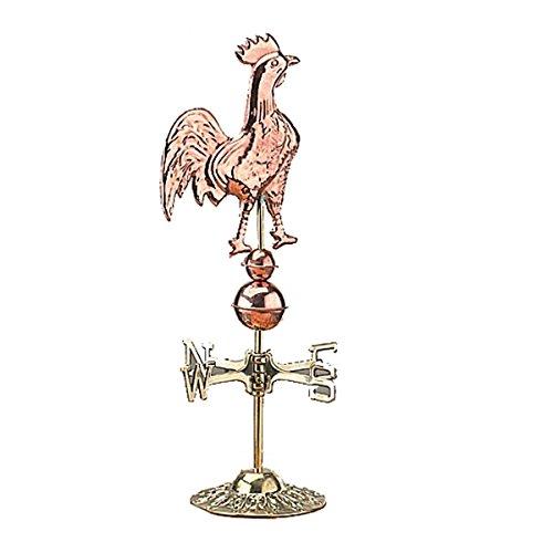 Weathervane Polished Copper Rooster Daybreak Desktop | Re...