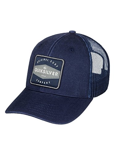 Quiksilver Men's Destril Trucker Hat, Navy Blazer, One (Mesh Blazer)