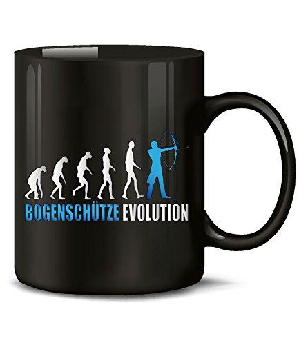 BOGENSCHÜTZE EVOLUTION 573(Schwarz-Blau)