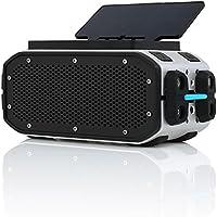 Braven BRV-PRO+SOLAR Bluetooth Speaker (Speaker/Solar Panel) - Silver/Black