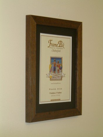 Frames By Post H7 Picture Frame 36 X 24 Inches Oak With Black Mount
