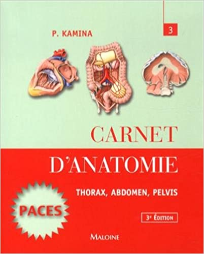 Carnet D\'anatomie T.3 - Thorax, Abdomen, Pelvis (French Edition ...