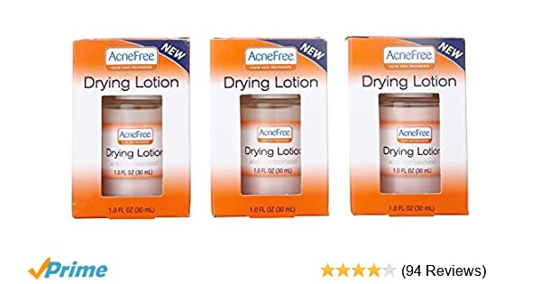 Amazon Com Acnefree Drying Lotion 3 Pack Of 1oz Bottles Beauty