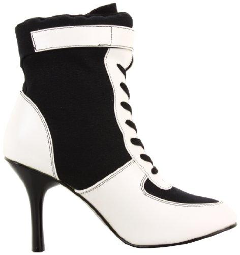 Funtasma REFEREE-125 REF125 Damen Stiefel, Schwarz/Weiß, US 7