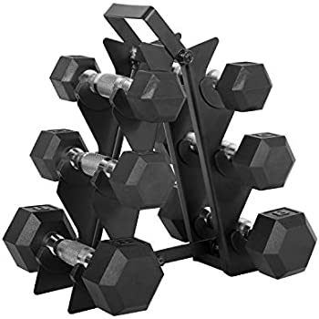 Amazon.com : CAP Barbell 32-Pound Coated Hex Dumbbell Set