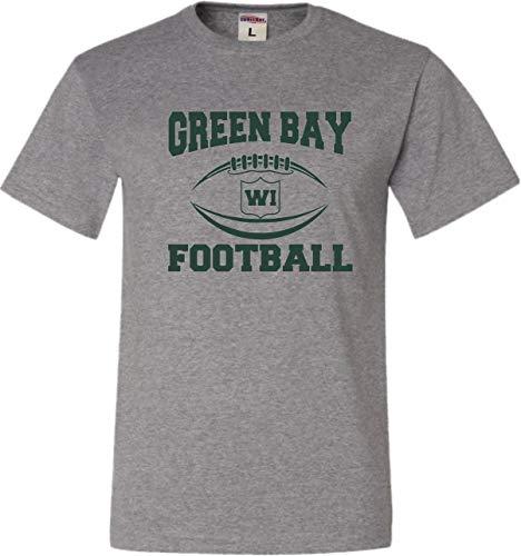 X-Large Oxford Adult Green Bay Football T-Shirt