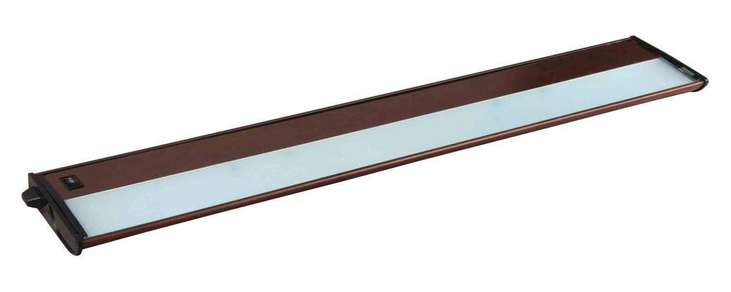 Four Light Metallic Bronze Undercabinet Strip (Min-6)