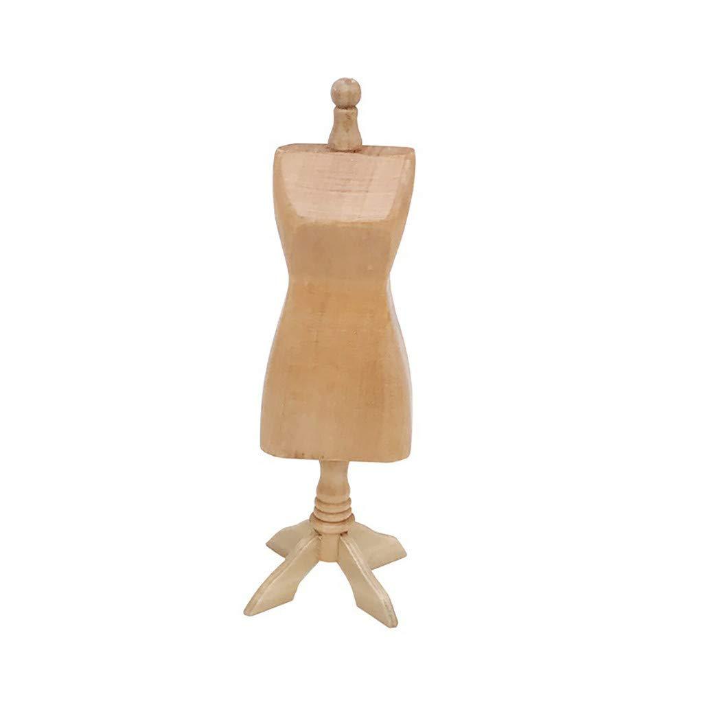 TianranRT - Casa de muñecas de madera en miniatura (modelo ...