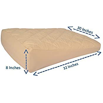 Amazon Com Inflatable Bed Wedge Pillow Acid Reflux Wedge