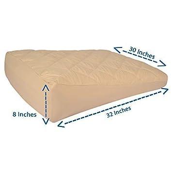 Amazon Com Inflatable Bed Wedge Acid Reflux Wedge Sleep W Your