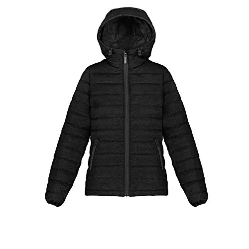 - Triple F.A.T. Goose Whitney Women's Lightweight Down Jacket with Hood (Medium, Black)