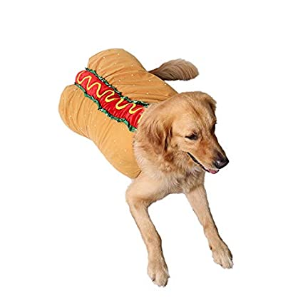 Cheap Perfect Halloween Pet Hot Dog CostumePet Costumes For Dogs Cats