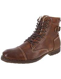 Men's Fleece-Lined Liam Cap Toe Boot