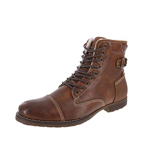 - Dexter Men's Cognac Men's Fleece-Lined Liam Cap Toe Boot 9 Regular