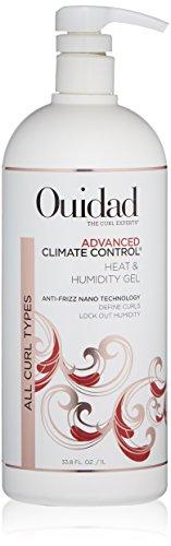 Silk Gel Styling Extra Body - OUIDAD Advanced Climate Control Heat & Humidity Gel, 33.8 Fl Oz