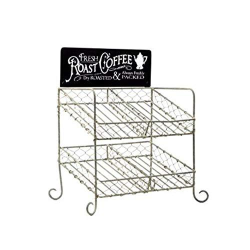 K-cup compatible Vintage Coffee Pod Holder ()